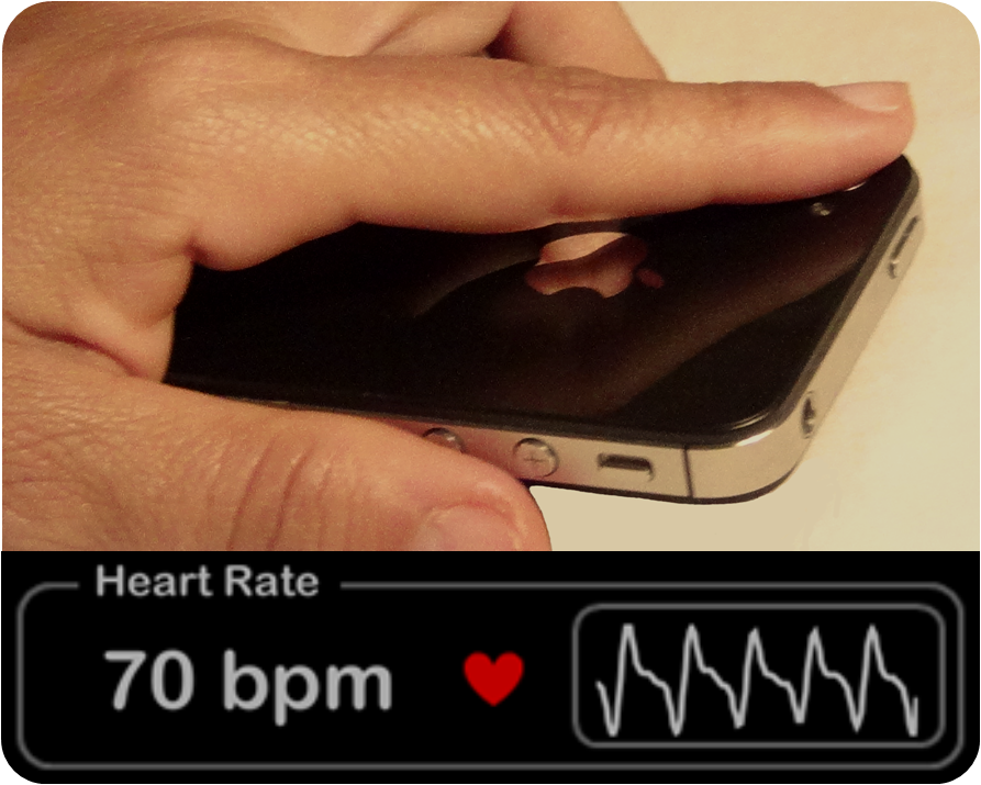 Heart Rate Plus from iPhone Camera Lens
